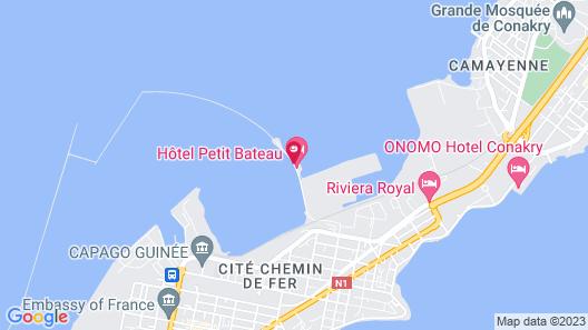 Hôtel Petit Bateau  Map
