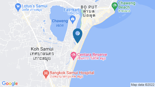 Buri Rasa Village Map