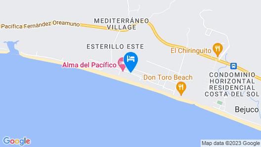 Encantada Ocean Cottages Map