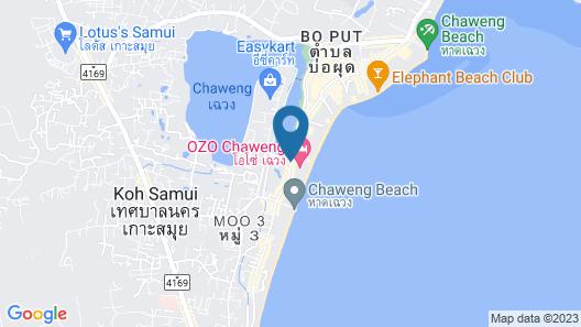 OZO Chaweng Samui Map