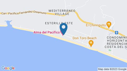 Alma Del Pacifico Beach Hotel & Spa Map