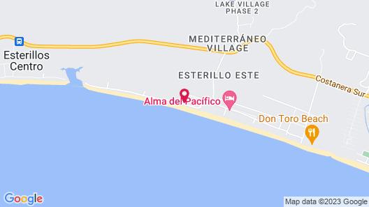 Sunset Del Mar Resort Map