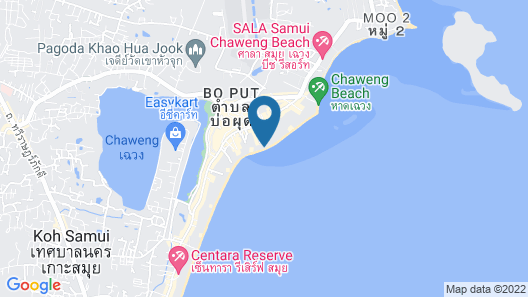 Ark Bar Beach Resort Map