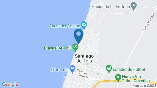 Hotel Don Toño Map