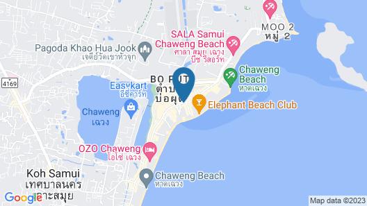 J4 Hotel Samui Map