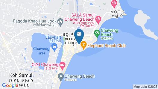 OYO 75324 At samui boutique hotel Map
