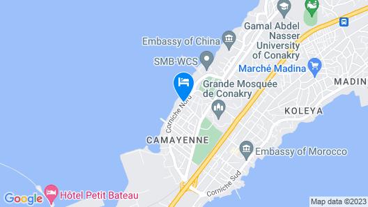 Palm Camayenne Map
