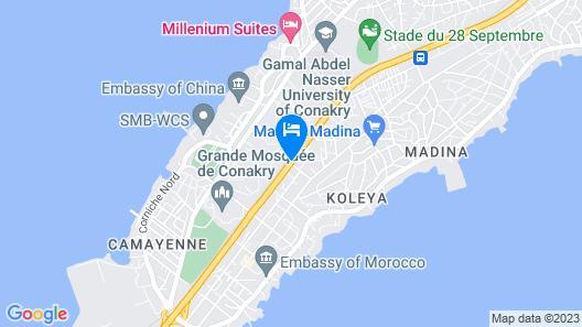 Hotel Mariador Park Map