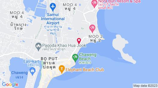 Lotus Friendly Hotel Map
