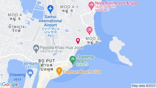 Tango Beach Resort Map