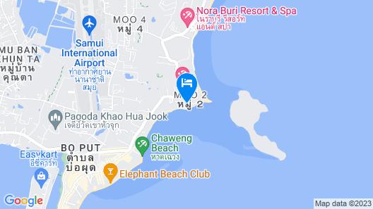 Casa De Mar Map
