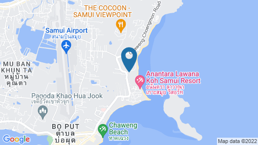 Nora Beach Resort and Spa Map