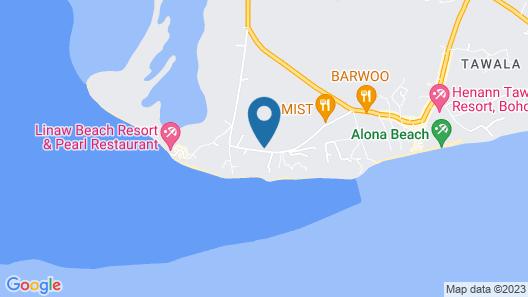Bohol Sea Resort Map
