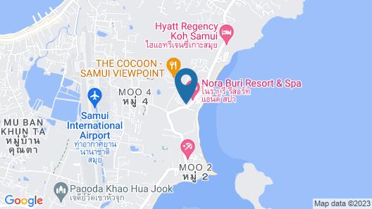 Bhundhari Koh Samui Map