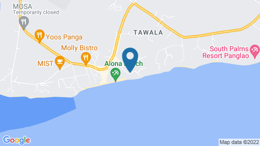 Henann Resort Alona Beach Map