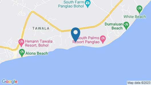 Eskaya Beach Resort and Spa Map