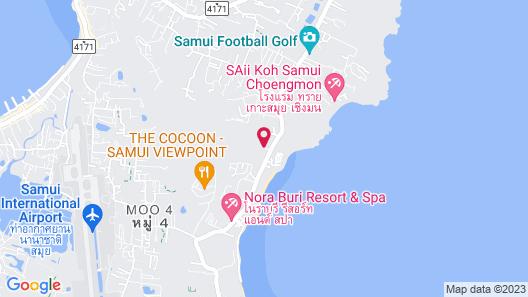 Maryoo Samui Hotel Map