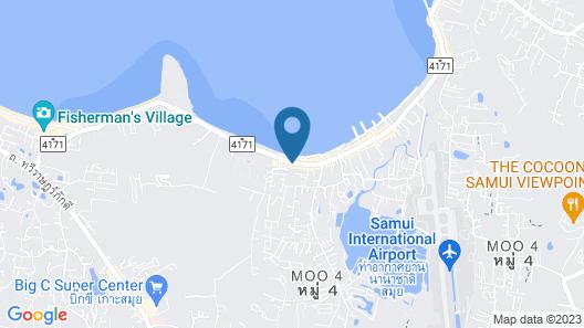 2 Bedroom Beach Front Villa Bangrak Map