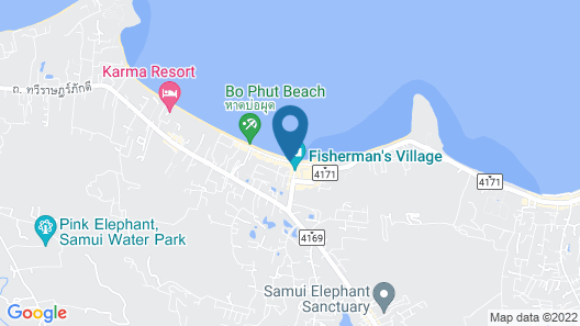 Greenhouse Samui Apartments Map