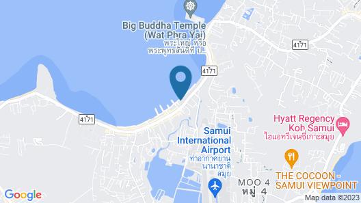 Saboey Resort and Villas Map