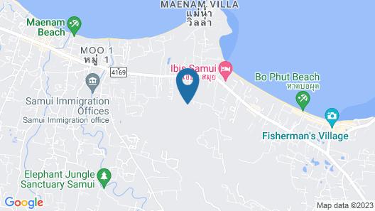 Mantra Samui Resort Map