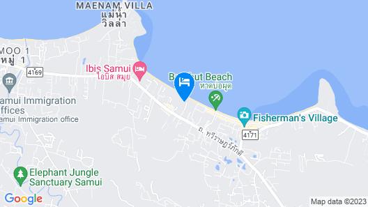 Bandara Resort & Spa Map