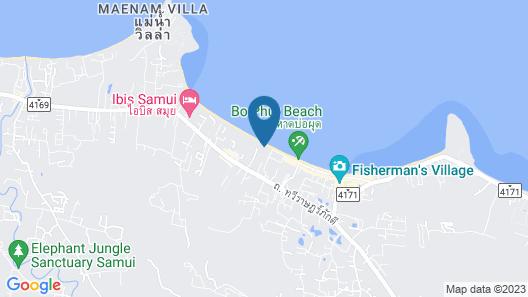 Anantara Bophut Koh Samui Resort Map