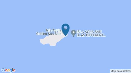 Catamaran en Kuna Yala Map