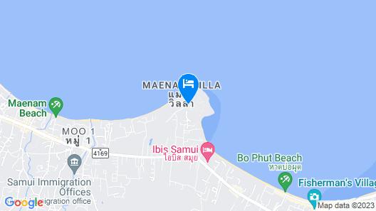 W Koh Samui Map