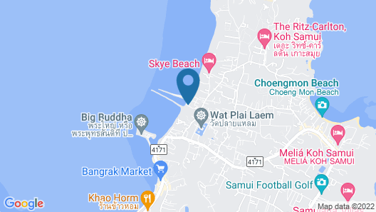 Samui Boat Lagoon Map