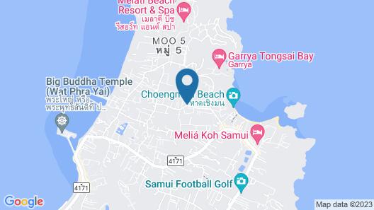 Samui Secret Villas Map