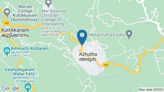 KTDC Tamarind Peermedu Map