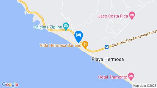 Hermosa Beach House Map