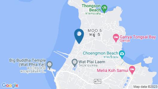 Skye Beach Hotel (SHA Plus+) Map