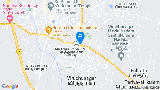Hotel Sriram JB Residency Map