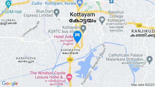 Hotel Aida Map