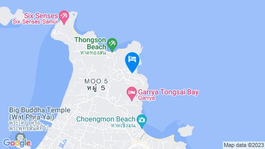 The Ritz-Carlton, Koh Samui Map