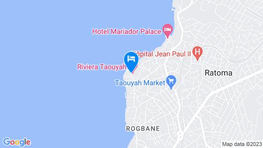 Riviera Taouyah Hotel Map