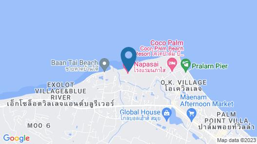 Belmond Napasai Map