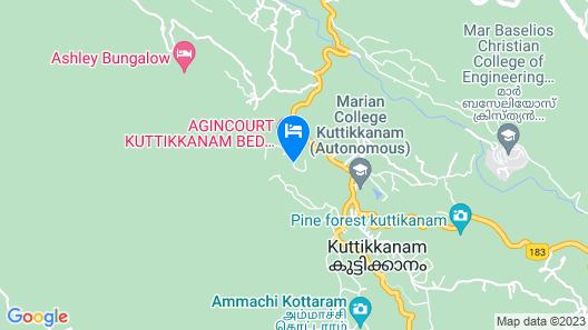 Dream Land Hill Residency Map