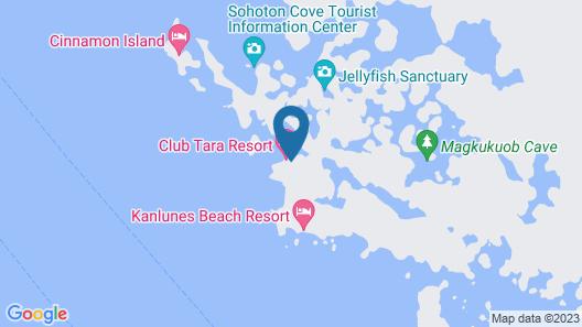 Club Tara Resort Map