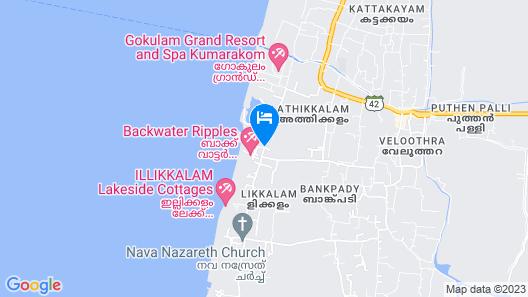 Aveda Kumarakom Map