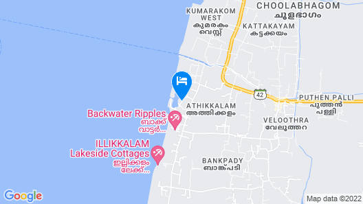 The Zuri Kumarakom Kerala Resort & Spa Map