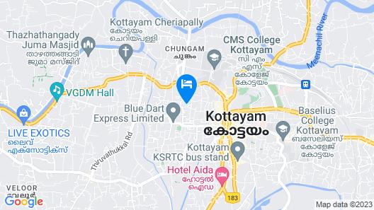 Indraprastham Tourist Home Map
