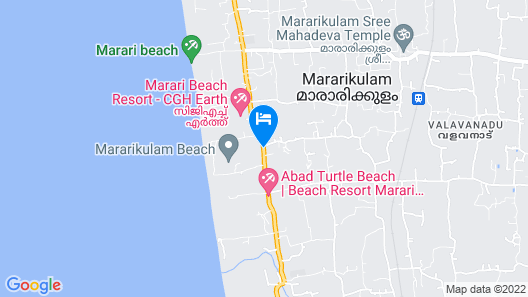 Achayans Homestay Map