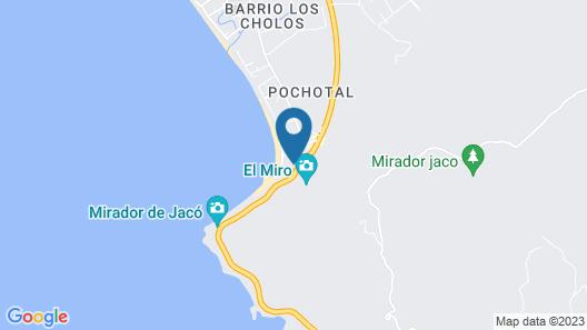 Hotel Club Del Mar Map