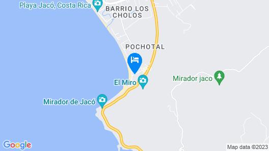 Jacó Laguna Resort and Beach Club Map