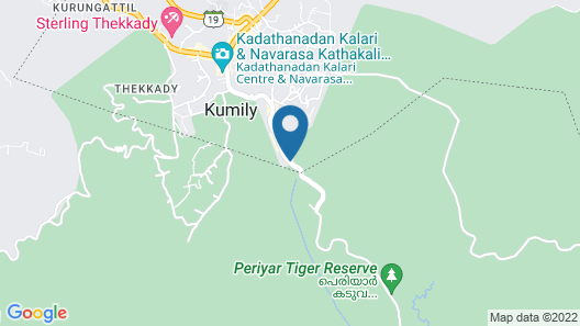 Hotel Tigers Roare' Map