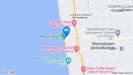 Amritara A Beach Symphony Map