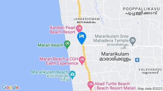 Shalom Villa by Vista Rooms Map